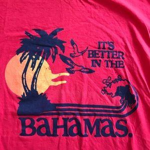 "Shirts - Single Stitch ""It's Better In The Bahamas"" T Shirt"
